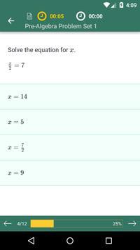 Pre-Algebra 截图 2