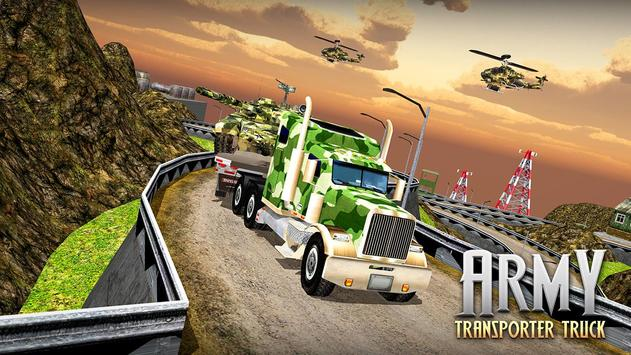US Army Cargo Transporter: Truck Driving Games screenshot 5
