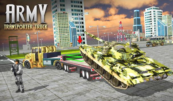 US Army Cargo Transporter: Truck Driving Games screenshot 13