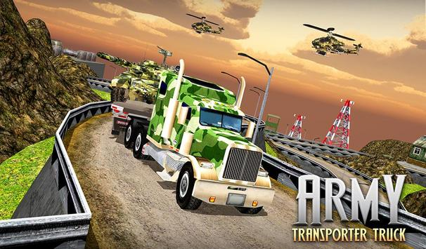 US Army Cargo Transporter: Truck Driving Games screenshot 10