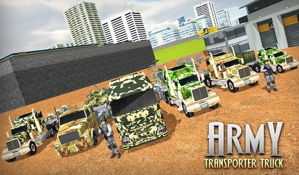 US Army Cargo Transporter: Truck Driving Games screenshot 11