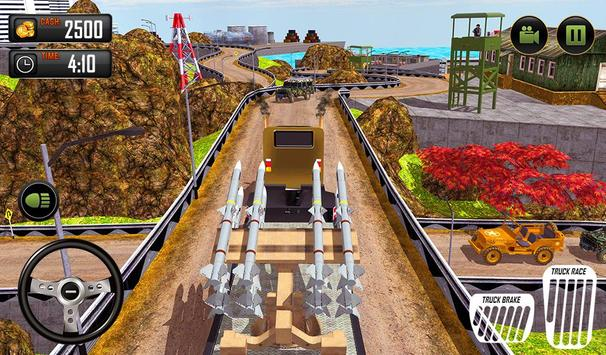 US Army Cargo Transporter: Truck Driving Games screenshot 14