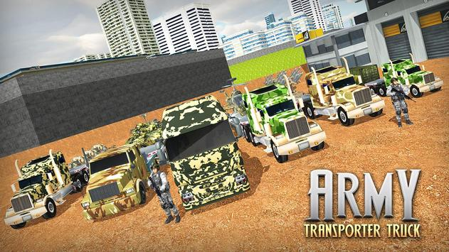 US Army Cargo Transporter: Truck Driving Games screenshot 1
