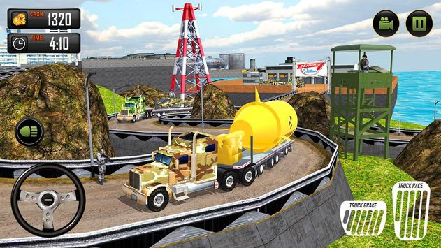 US Army Cargo Transporter: Truck Driving Games screenshot 2
