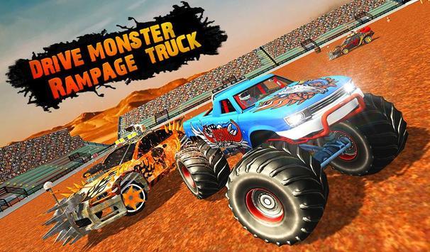 Monster Truck Demolition Derby: Extreme Stunts screenshot 13