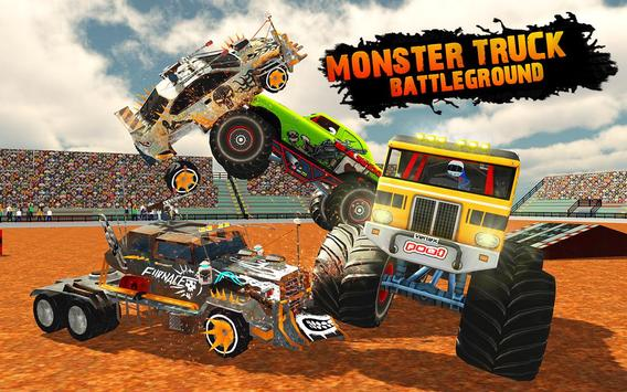 Monster Truck Demolition Derby: Extreme Stunts screenshot 1