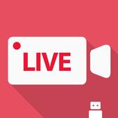 CameraFi Live أيقونة