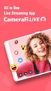 CameraFi Live الملصق