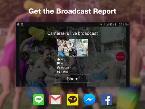 CameraFi Live screenshot 14
