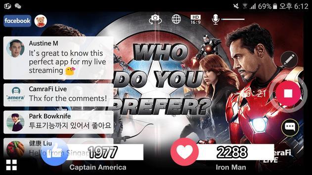 CameraFi Live screenshot 18