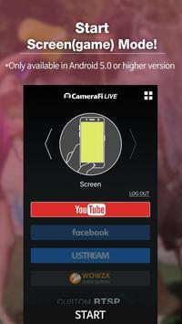 CameraFi Live screenshot 1