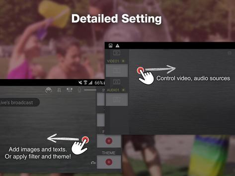 CameraFi Live screenshot 21