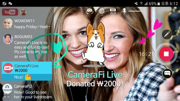 CameraFi Live screenshot 8