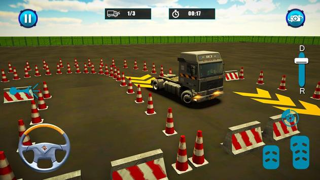 Semi Truck Parking screenshot 2