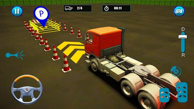 Semi Truck Parking screenshot 5