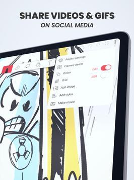 Flipaclip: Cartoon Animation Creator & Art Studio screenshot 16