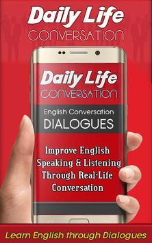 English Conversation Daily Life poster