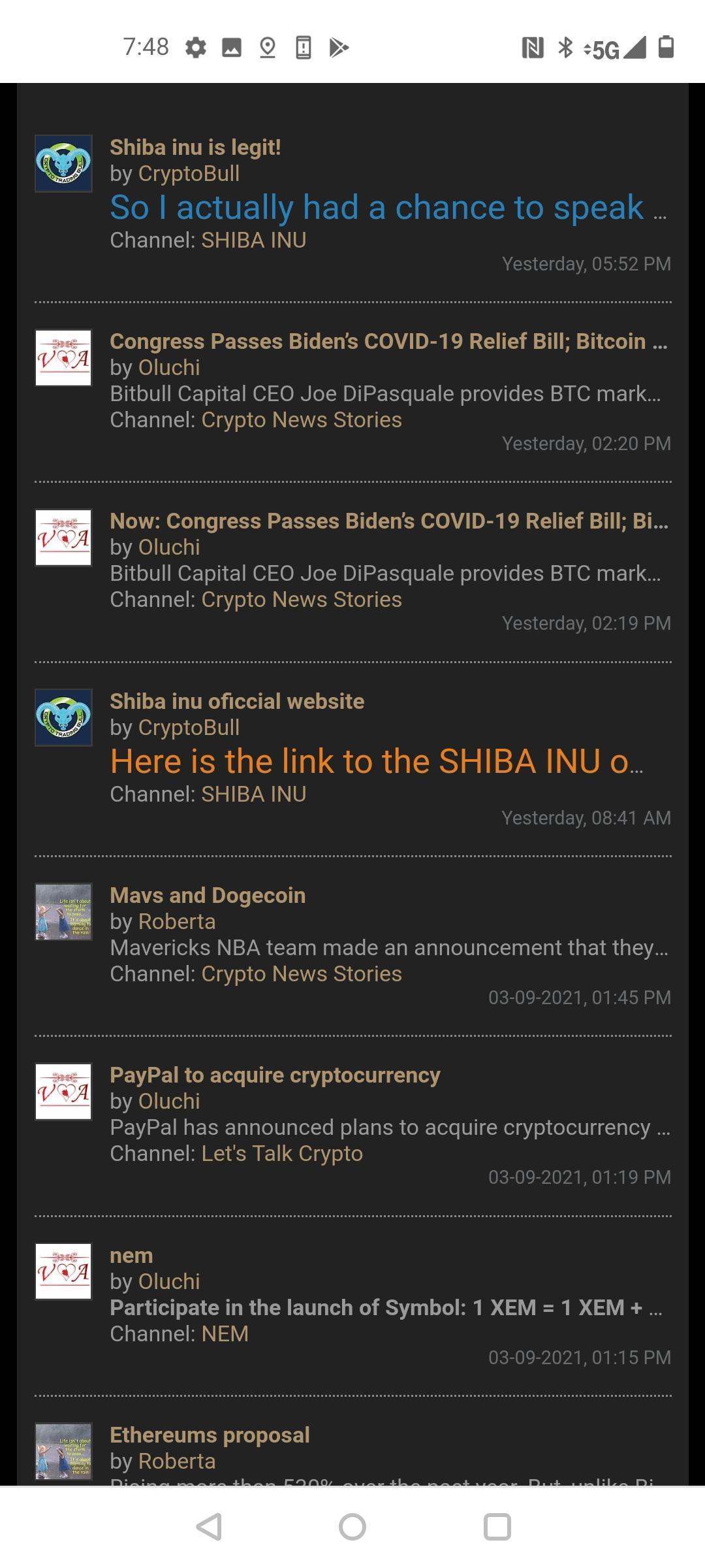 trading forum crypto