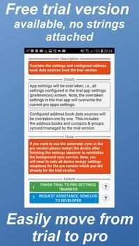ContactSync trial स्क्रीनशॉट 5