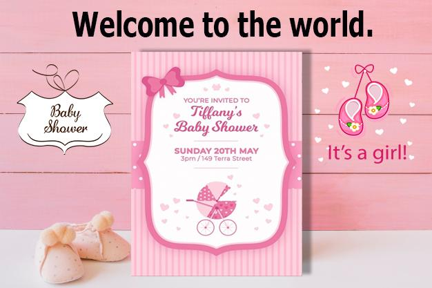 Baby Shower Invitation For Android Apk Download