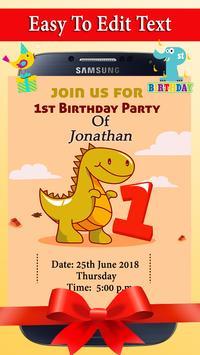 Birthday Invitation screenshot 9