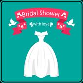 Bridal Shower Invitation icon