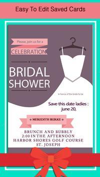 Bridal Shower Invitation screenshot 11