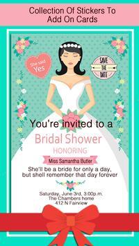 Bridal Shower Invitation screenshot 14