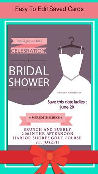 Bridal Shower Invitation screenshot 5