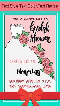 Bridal Shower Invitation screenshot 9