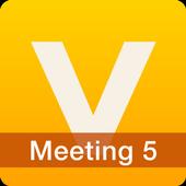 V-CUBE Meeting 5 simgesi