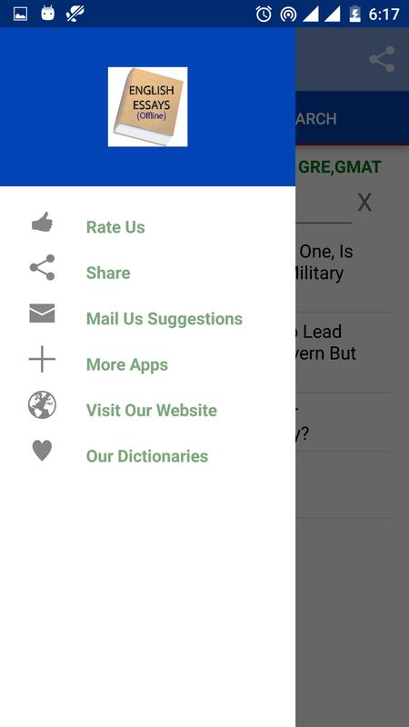 english essays for android  apk download  english essays screenshot