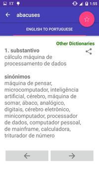 English Portuguese Dictionary screenshot 6