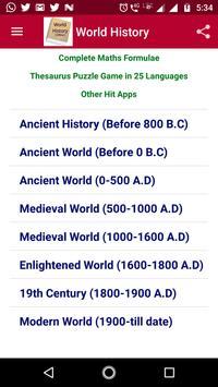 World History screenshot 8