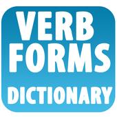 English Verb forms icon