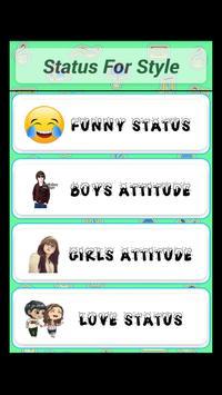Attitude Status Style screenshot 1