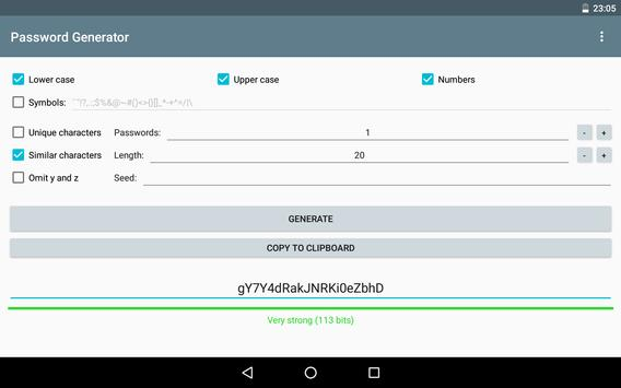 Password Generator screenshot 10
