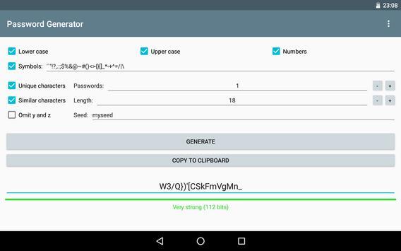 Password Generator screenshot 12