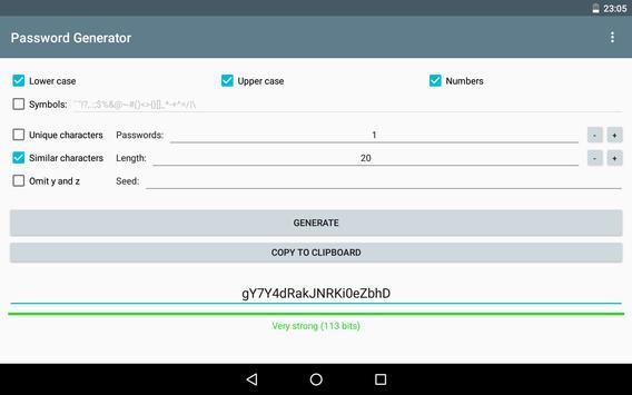 Password Generator screenshot 5