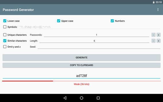 Password Generator screenshot 8