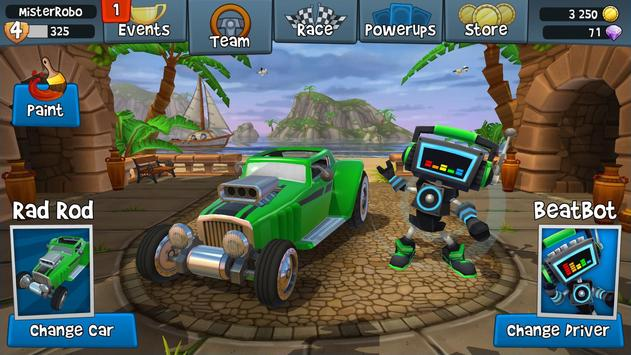 Beach Buggy Racing 2 captura de pantalla 16