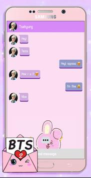 BTS Messenger! Chat Simulator 2 screenshot 1