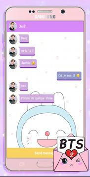 BTS Messenger! Chat Simulator 2 screenshot 3