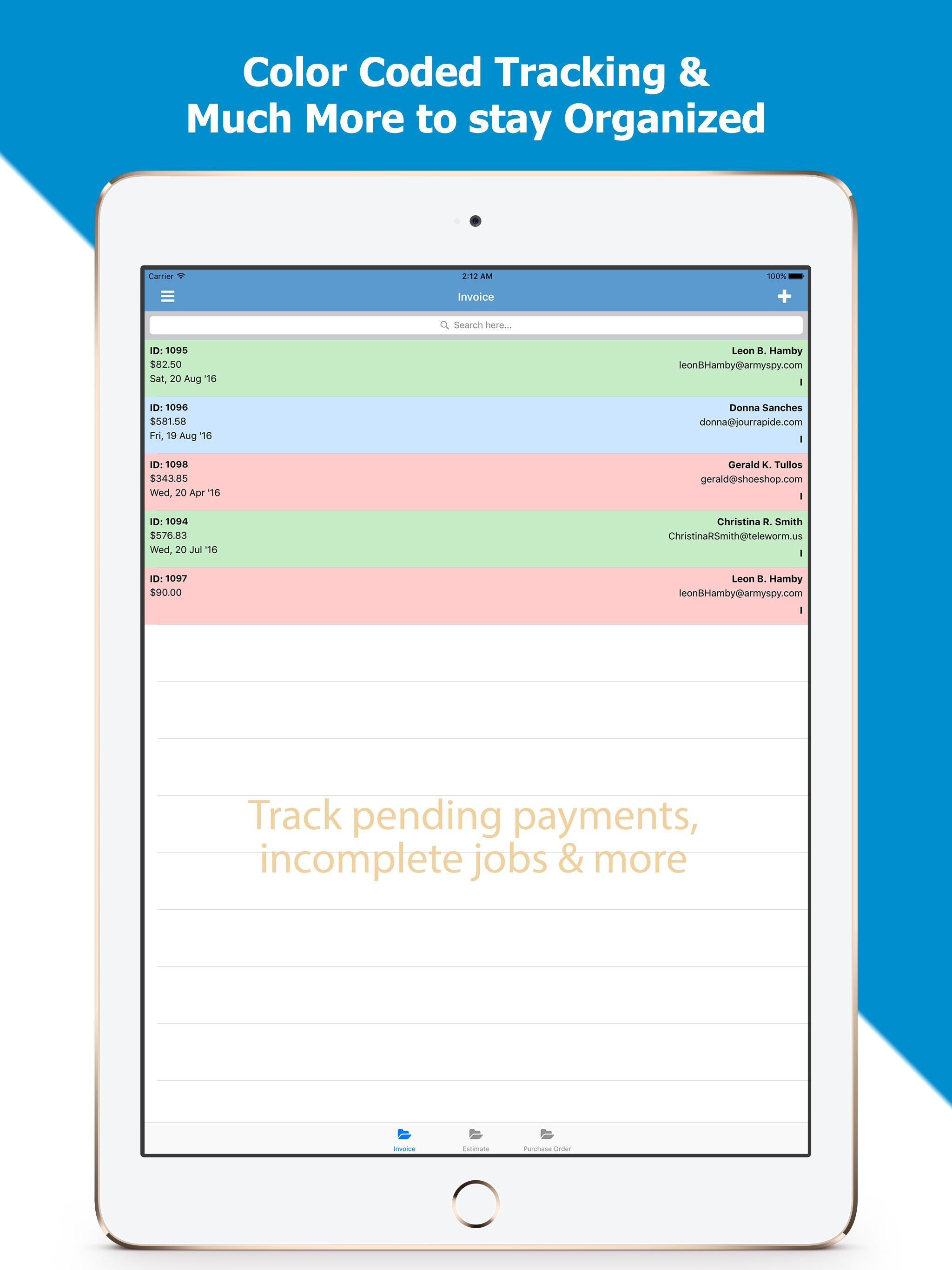 Invoice Pdf Free Professional Invoicing For Android Apk