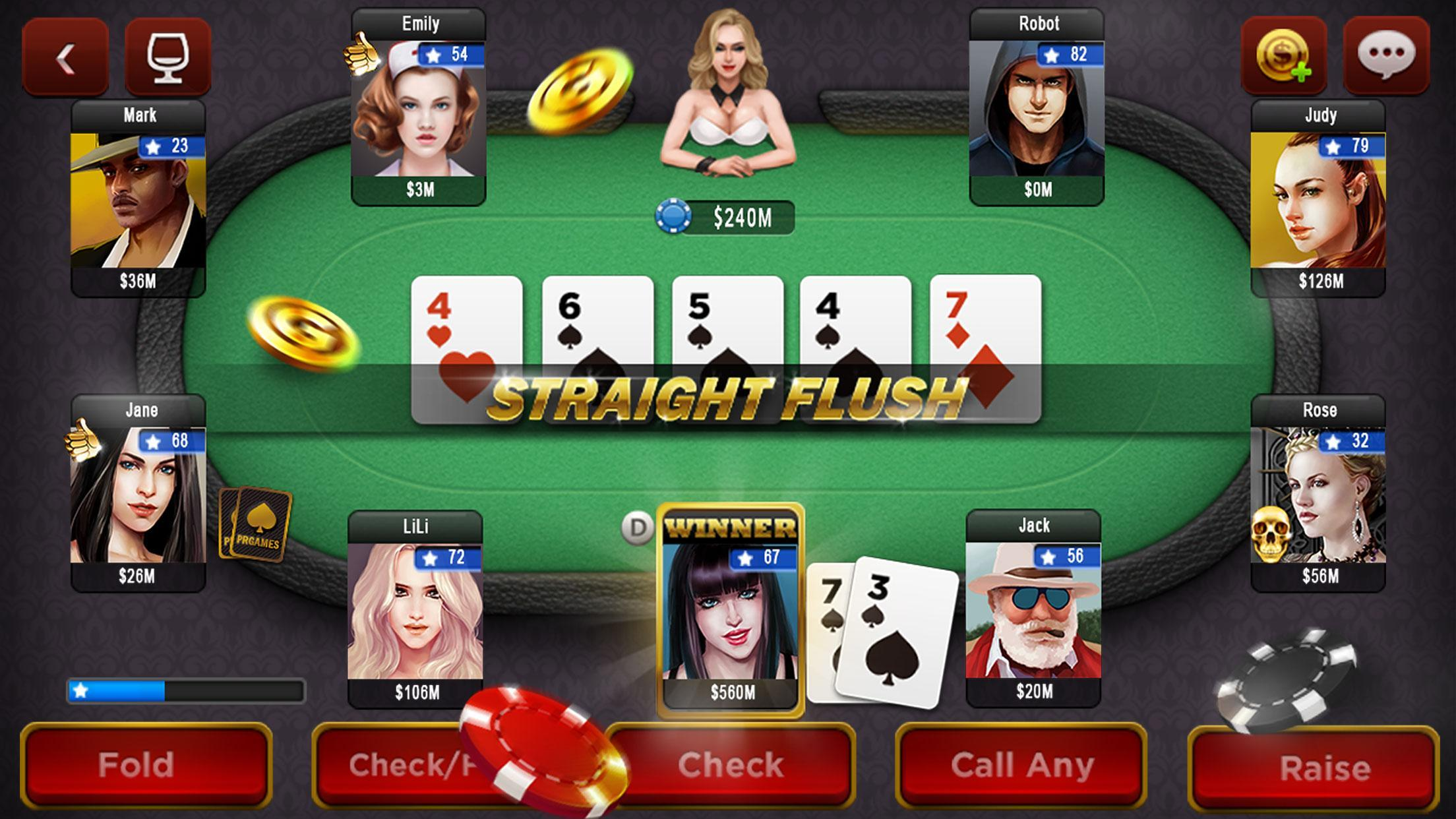 Spark Poker Live Texas Holdem Free Casino For Android Apk Download