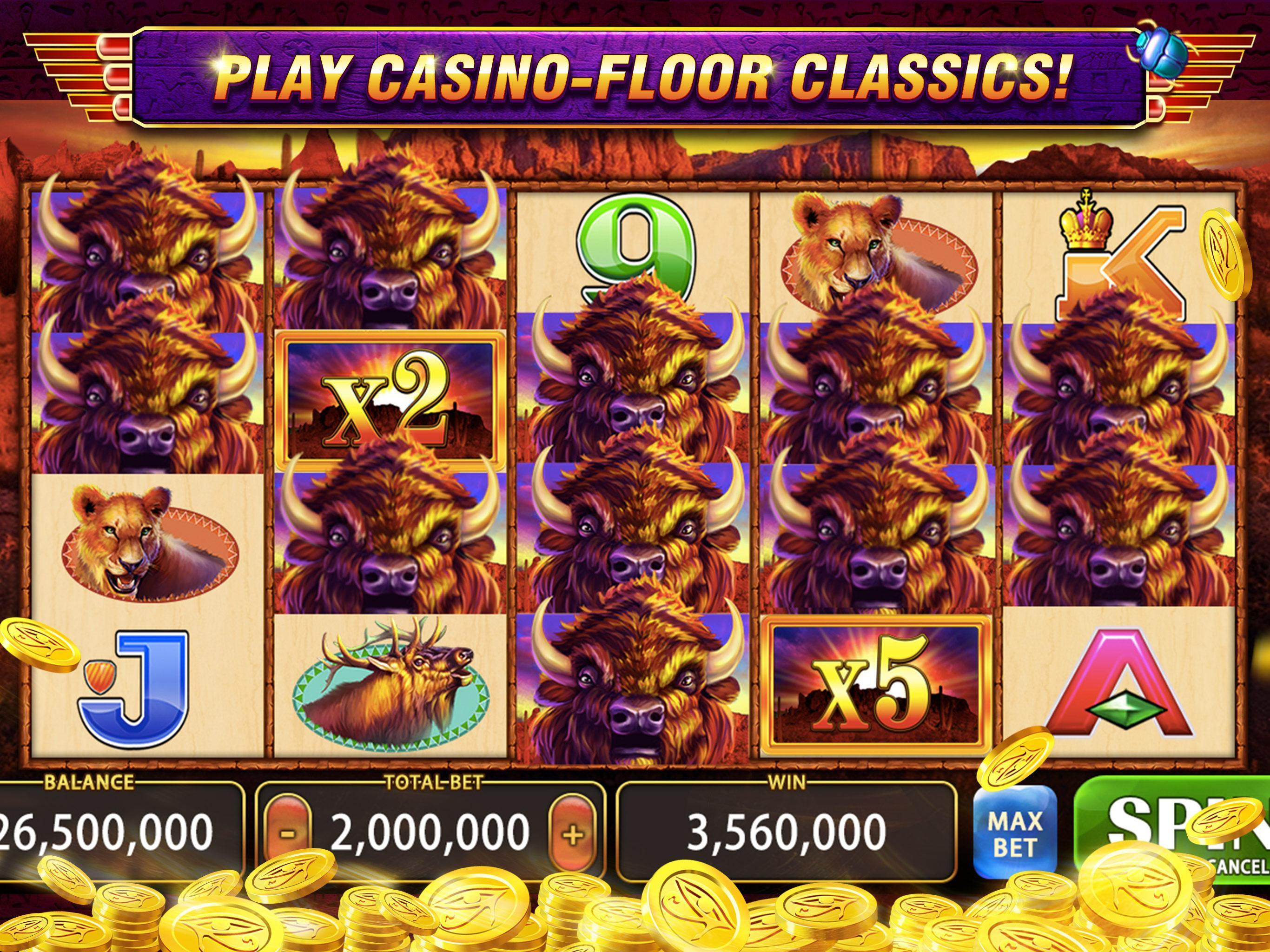 Lightning Of Pyramid Slots Casino Free Slots For Android Apk