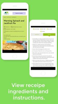 Vegetarian Society Recipes screenshot 2