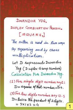 Vedic Maths - Complete poster