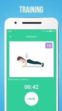 Upper Body Workouts स्क्रीनशॉट 8