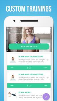 Upper Body Workouts स्क्रीनशॉट 10